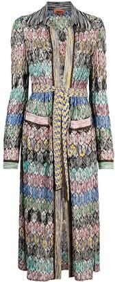 Missoni Metallic Threading Coat