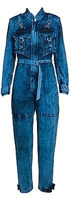 Stella McCartney Women's Galaxy Organic Denim Jumpsuit