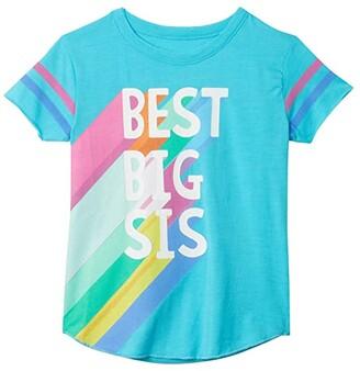 Chaser Vintage Jersey Tee (Toddler/Little Kids) (Poolside) Girl's T Shirt