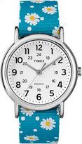 Timex Weekender Womens Blue Strap Watch-Tw2r240009j