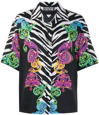 Versace Tiger Baroque print T-shirt
