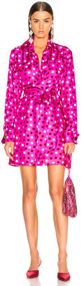 Maggie Marilyn Heat Of The Moment Dress in Pink, White & Red Polka Dot | FWRD