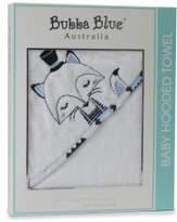 Bubba Blue Bubba Blue Mr Fox Velour Hooded Towel