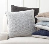 Pottery Barn Thermal Knit Sherpa Back Pillow Cover