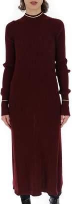 Maison Margiela Open Back Long Line Knitted Top