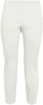 The Row Cosso Cropped Stretch-crepe Skinny Pants
