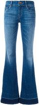 J Brand slit sides flared jeans - women - Cotton/Polyester/Spandex/Elastane - 27