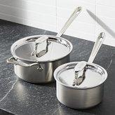 Crate & Barrel All-Clad ® d5 ® Saucepans with Lids