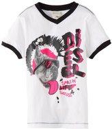 Diesel Boys 2-7 Tesfy Smile In Life 4 Success T-Shirt