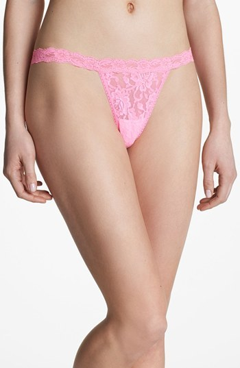 Hanky Panky 'Signature' Lace Low Rise G-String