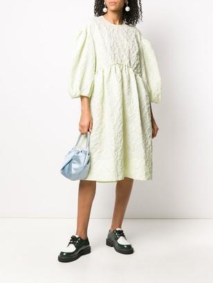 Simone Rocha Textured Midi Dress