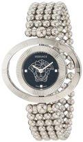 Versace Women's 91Q99D008 S099 Eon Reversible Bezel Stainless Steel Watch