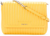 DKNY quilted shoulder bag - women - Leather - One Size
