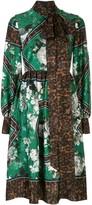 Erdem Medina print-mix dress