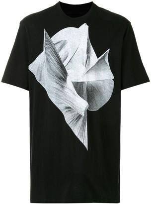 Julius graphic-print cotton T-shirt