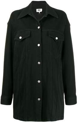 MM6 MAISON MARGIELA oversized denim shirt