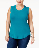 Melissa McCarthy Trendy Plus Size Muscle T-Shirt