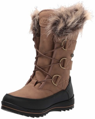 Lugz Women's Tundra Fur Classic 6-inch Moc Toe Chukka Fashion Boot