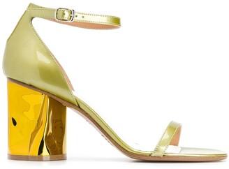 Maison Margiela bent heeled sandals