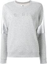 Zoe Karssen metallic detail sweatshirt