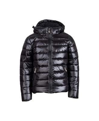 Pyrenex Spoutnic Shiny Down Filled Jacket Colour: BLACK, Size: Age 8