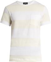 A.P.C. Road crew-neck cotton T-shirt