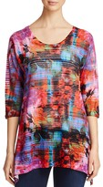 Nally & Millie Abstract Print Tunic - 100% Exclusive