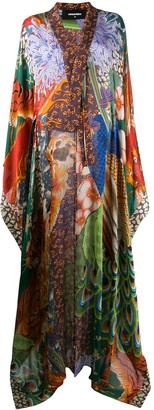 DSQUARED2 Printed Long Dress