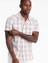 Lucky Brand Textured San Berdu Western Shirt