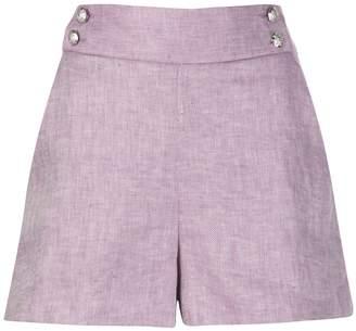 Veronica Beard Kimm high waisted shorts
