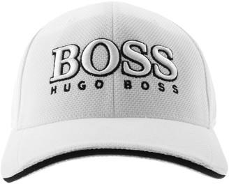 Boss Athleisure BOSS Baseball Cap White