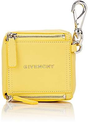 Givenchy Women's Pandora Leather Cube Pouch - Yellow