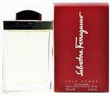 Salvatore Ferragamo By For Men. Eau De Toilette Spray 3.4 Ounces