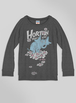 Junk Food Clothing Kids Girls Horton Hears A Who Sweater-jtblk-xl