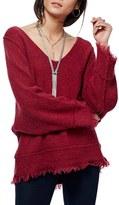 Free People Women's Irresistible Fringe Trim Sweater