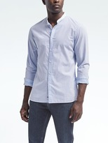 Banana Republic Heritage Banded-Collar Shirt