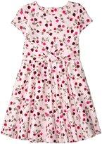 Kate Spade Fit & Flare Dress (Toddler/Kid) - Tossed Rose - 4