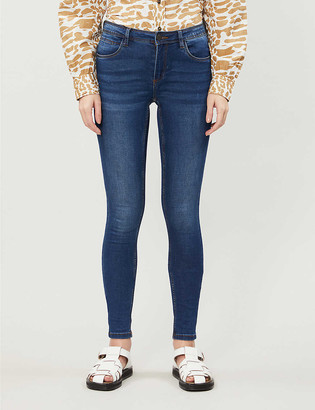 Noisy May Shaper skinny-fit mid-rise stretch-denim jeans