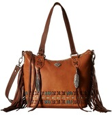 American West Mohican Melody Convertible Zip Top Bucket Tote