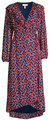 Escada Sport Floral Wrap Dress