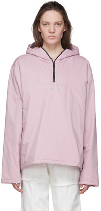 Ambush Pink Padded Anorak Jacket