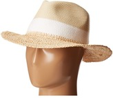 Echo Color Block Panama Beach Hat Caps