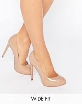 Wide Fit Platform Heels - ShopStyle UK