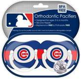 Baby Fanatic Chicago Cubs Pacifier - 2 Pack
