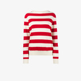 Holiday Red Sailor long sleeve stripe sweater