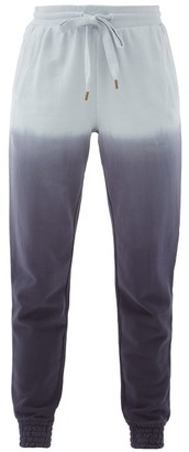 The Upside Alena Tie-dyed Cotton-jersey Track Pants - Blue