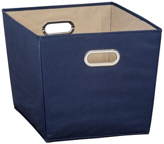 Honey-Can-Do Navy Large Storage Bin