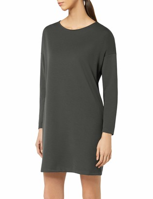 Meraki Women's Long Sleeve Shift Dress with Pockets