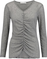 Kain Label Jacqueline gathered stretch-knit top