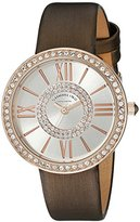 Stuhrling Original Women's 566.05 Vogue Analog Display Quartz Brown Watch